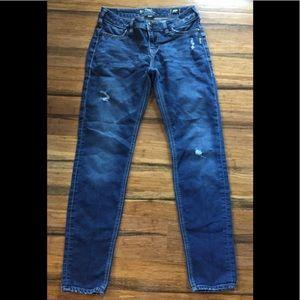Silver Suki Mid Super Skinny Joga Jeans sz 29~Nice